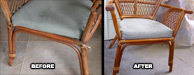Antique Side Chair Restored