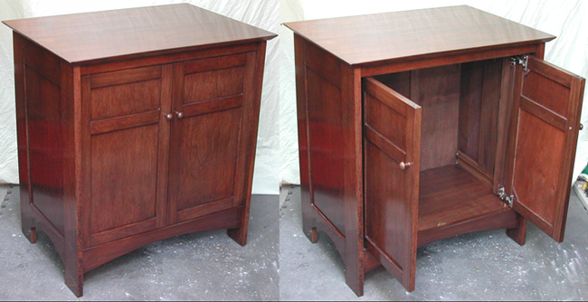 end table storage cabinet 2